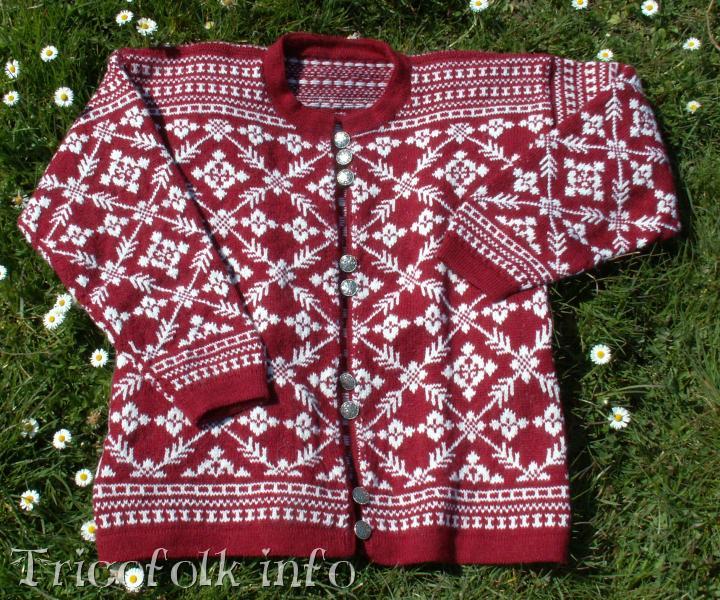 Le pull norvgien - Tricot, couture, et autres petites
